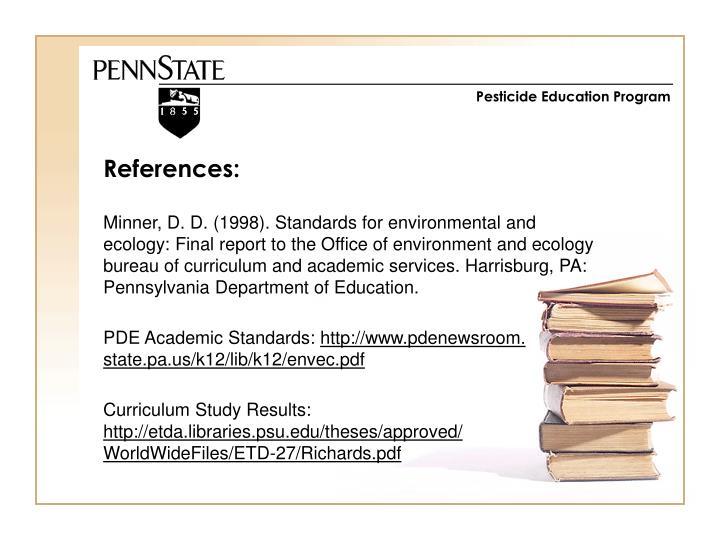 Pesticide Education Program
