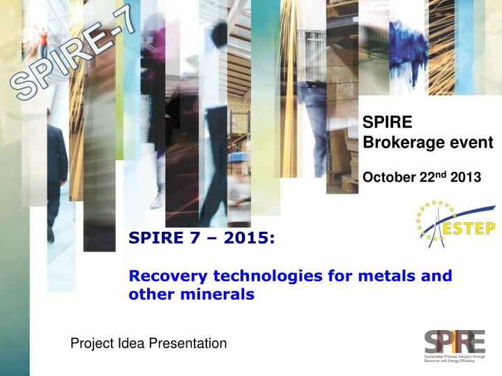 spire 7 2015 recovery technologies for metals and other minerals n.
