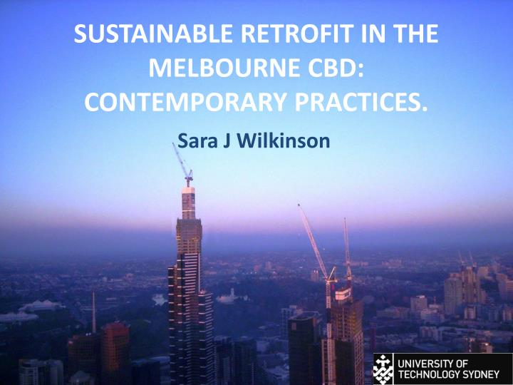 sustainable retrofit in the melbourne cbd contemporary practices n.