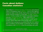 facts about asthma canadian statistics3