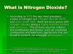 what is nitrogen dioxide