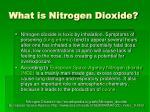 what is nitrogen dioxide1