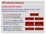 hpv infection outcomes