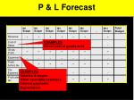 p l forecast1