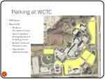 parking at wctc