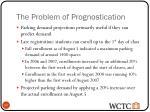 the problem of prognostication