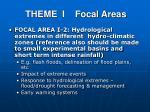 theme i focal areas1