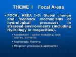 theme i focal areas2