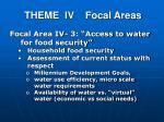 theme iv focal areas2