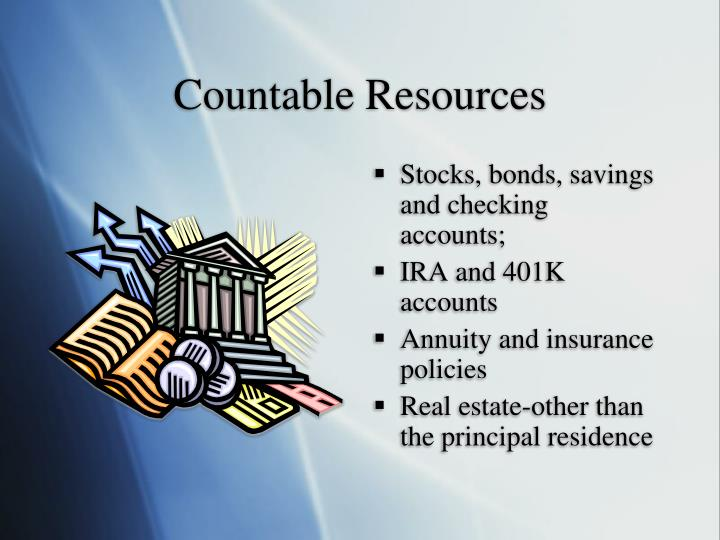 Countable Resources