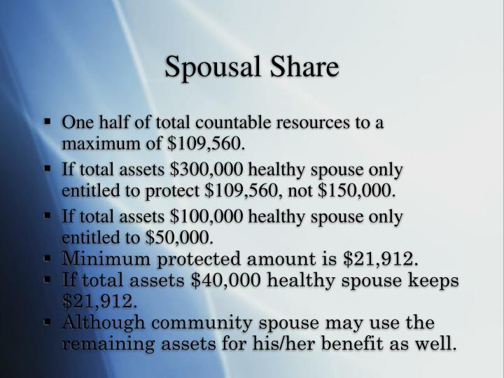 Spousal Share
