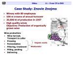 case study znovin znojmo