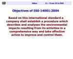objectives of iso 14001 2004