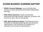 ecs300 blended learning battery