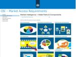 cbi market access requirements