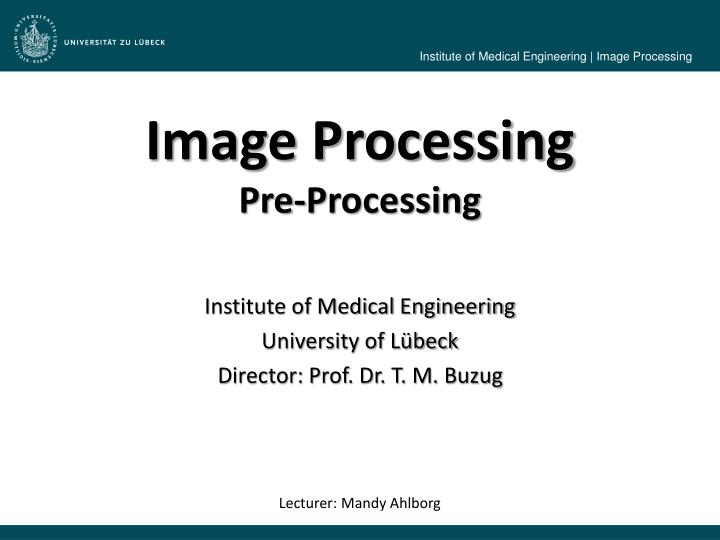 image processing pre processing n.
