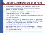 10 industria del software en el per2