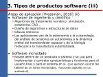 3 tipos de productos software iii