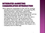 integrated marketing communication introduction1
