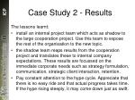 case study 2 results