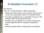 embedded innovation 1