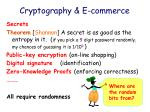 cryptography e commerce