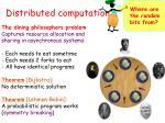 distributed computation