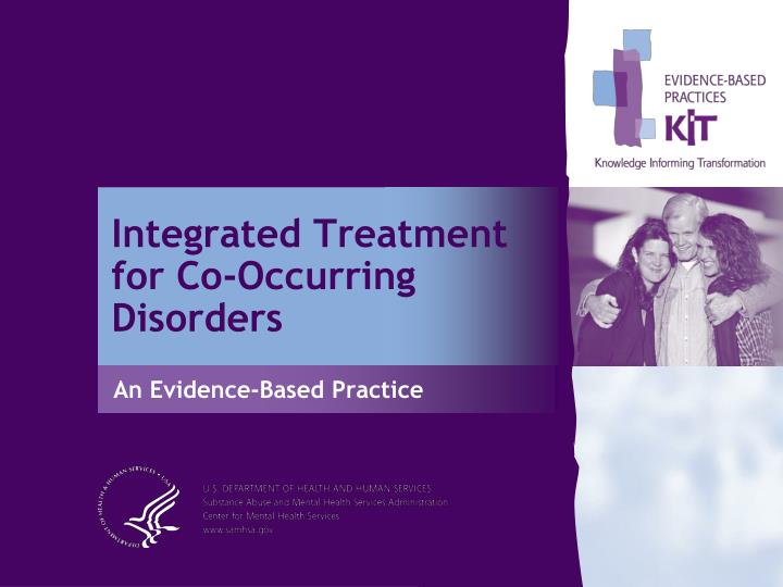 integrated treatment for co occurring disorders n.