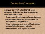 conceptos comunes