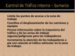 control de tr fico interno sumario2