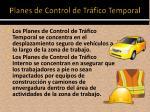 planes de control de tr fico temporal1