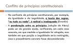 conflito de princ pios constitucionais