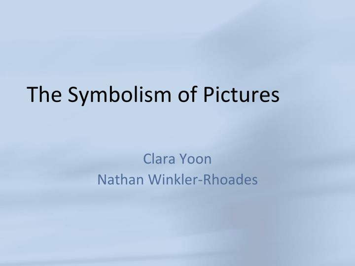 the symbolism of pictures n.
