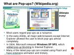 what are pop ups wikipedia org1