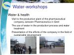 water workshops11