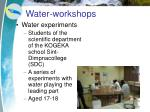 water workshops3