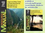 available at www eli org program areas climate biodiversity activities cfm