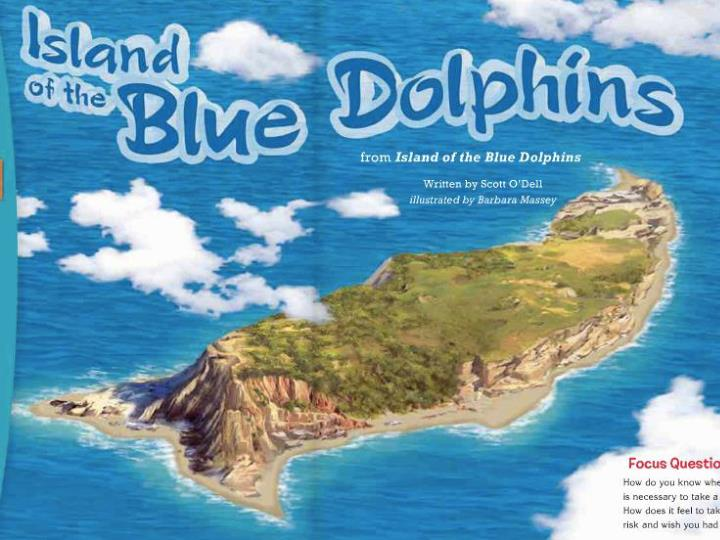 island of the blue dolphin n.