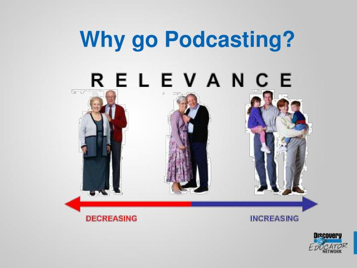 Why go podcasting1