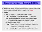 bungee jumper coupled odes1