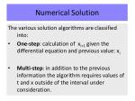numerical solution4