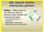 ink search gather interaction pattern1