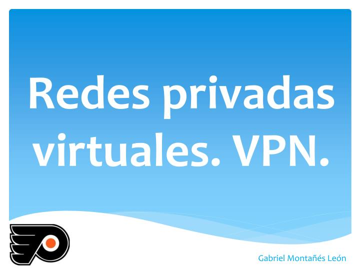 redes privadas virtuales vpn n.