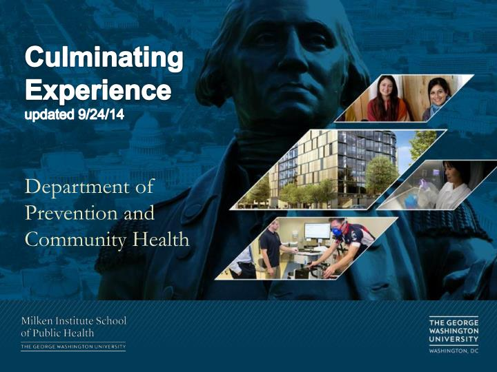 culminating experience updated 9 24 14 n.