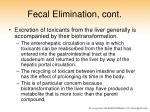 fecal elimination cont1
