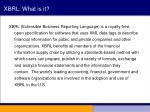 xbrl what is it