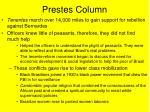 prestes column