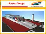 station design