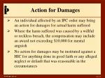 action for damages