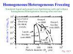 homogeneous heterogeneous freezing4